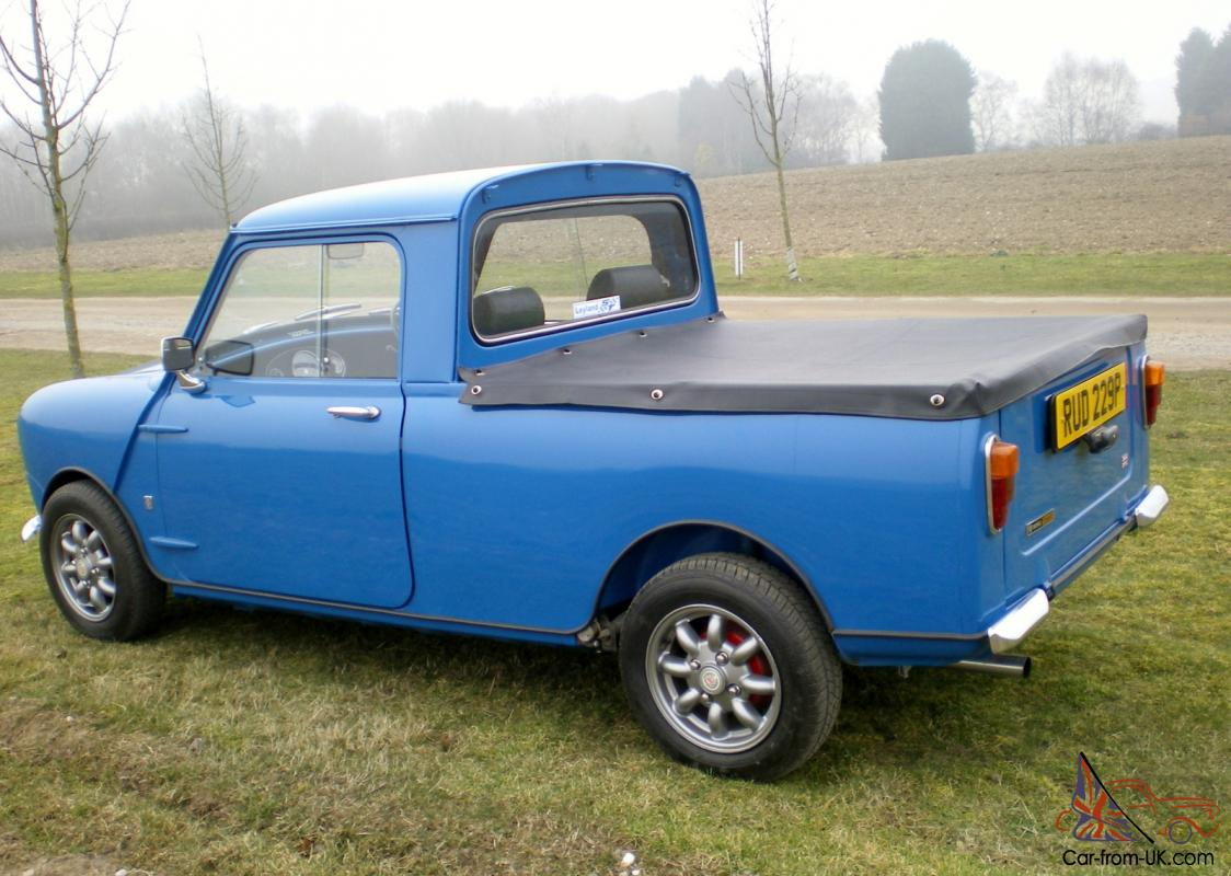 1976 austin mini pick up 1275cc fully restored. Black Bedroom Furniture Sets. Home Design Ideas