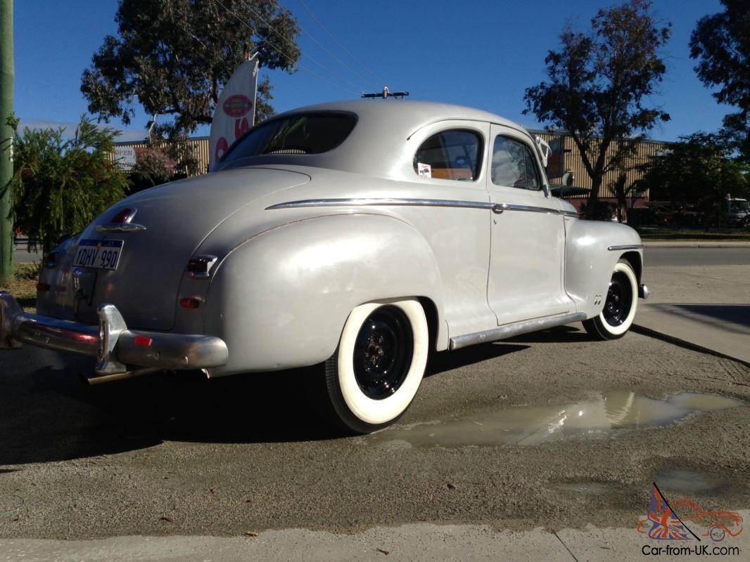 1946 Plymouth Coupe Lhd Full Wa Rego Hot Rod Swap Trade Dodge Mopar Cv Joint Diagram Ford Chev