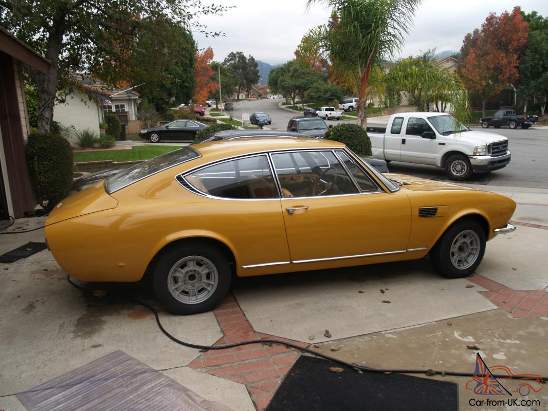 1968 Fiat Dino Coupe Photo