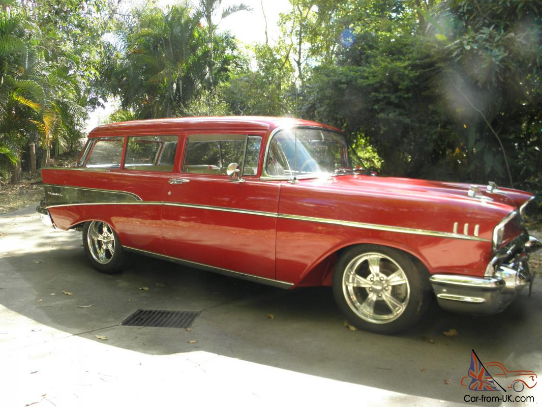1957 2 door chevrolet wagon