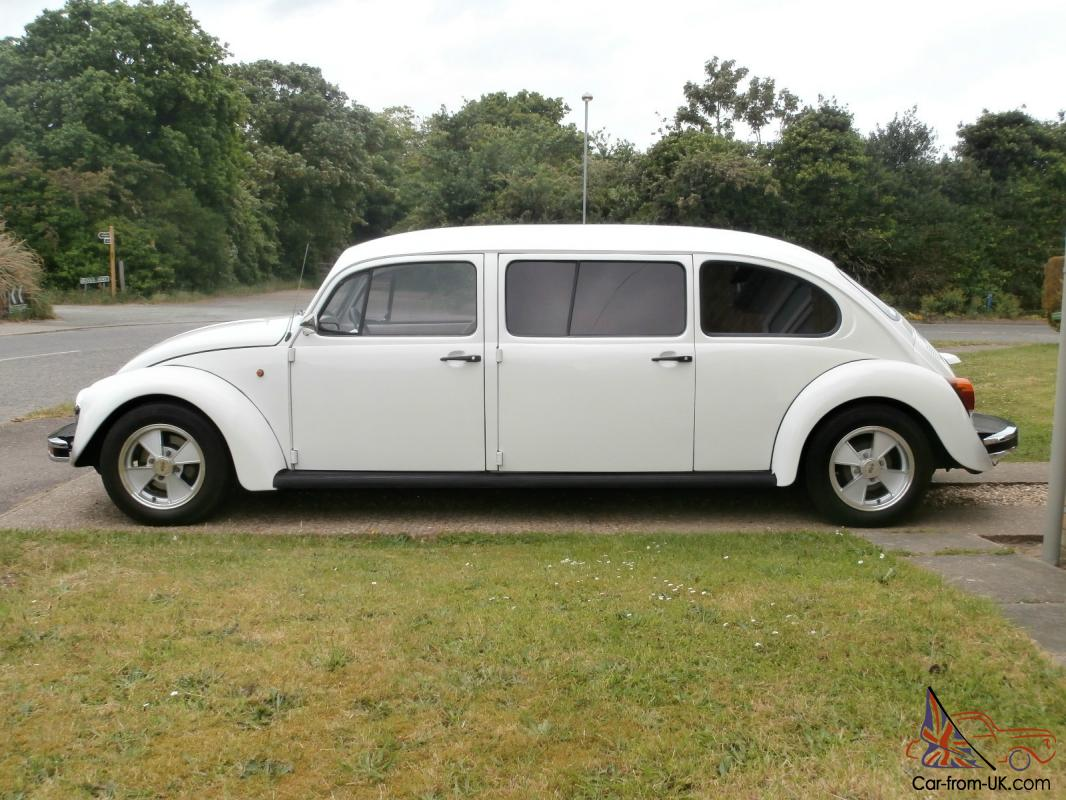 Vw Classic Beetle 2003 Mexican Import Stretched White