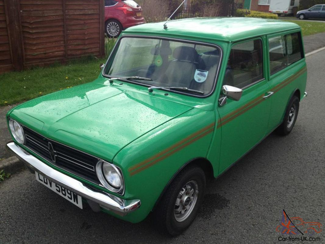 classic leyland austin mini clubman estate 1980 java green 1 1l. Black Bedroom Furniture Sets. Home Design Ideas