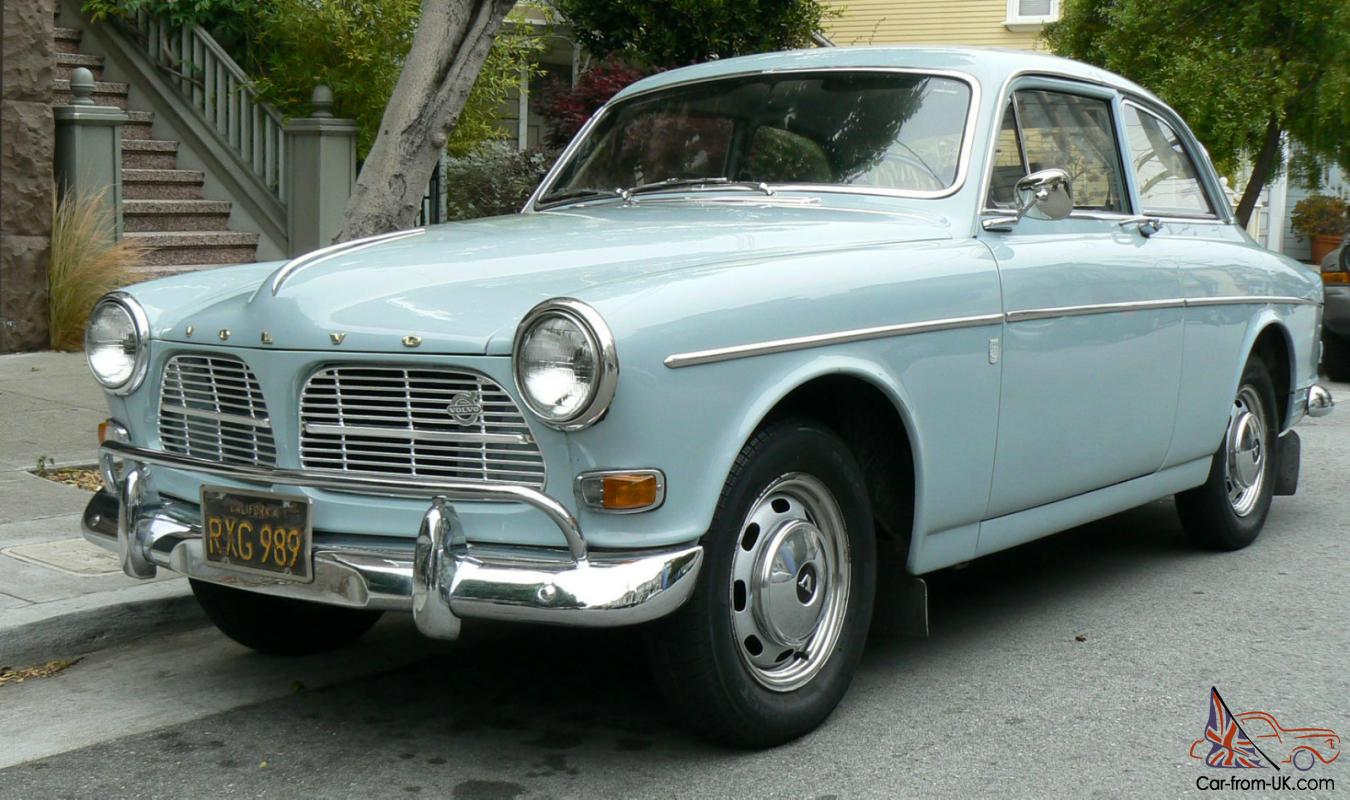 NO RESERVE 1966 Volvo 122S Amazon Two Door Coupe CA Black Plate ...