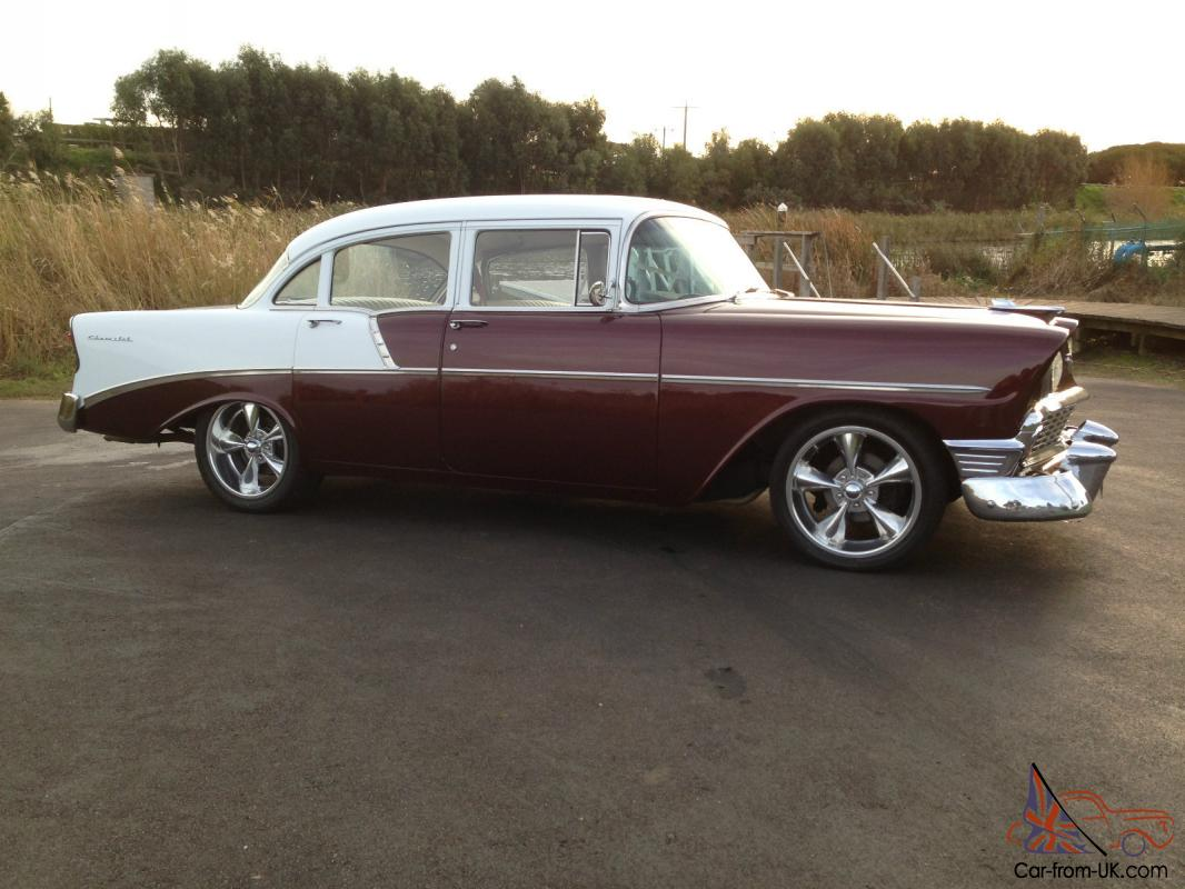 Chevrolet belair 1956 4 door sedan for 1956 chevy 4 door for sale