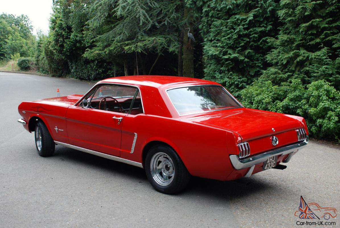 1965 Ford Mustang V8 Auto Coupe