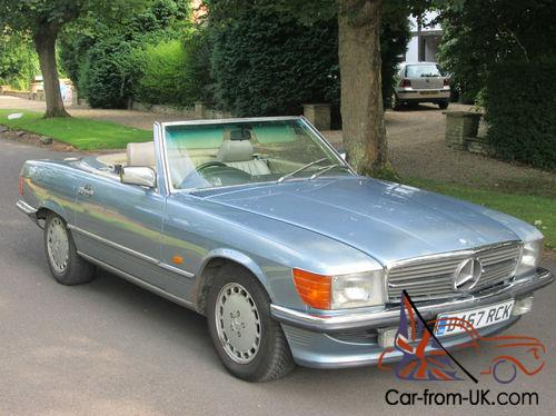 1986 mercedes benz 300 sl r 107 model classic soft top for Old mercedes benz models