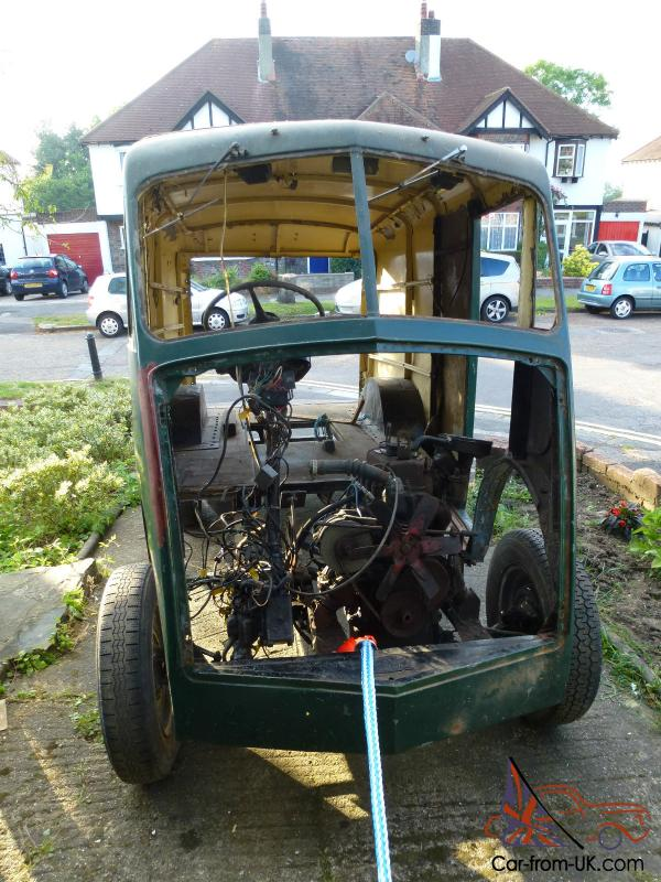 1958 Austin Morris J Type Van Project