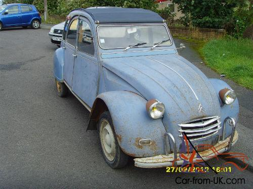 citroen 2 cv azam 1967 rare export model