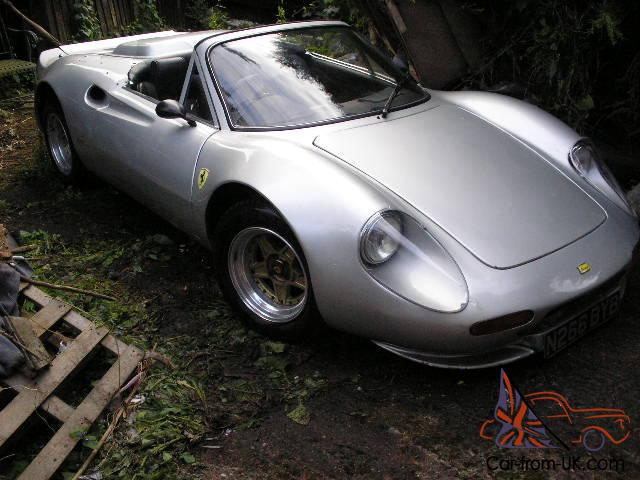 Wonderful Dino Deon Replica, FACTORY BUILT EX DEMO CAR, NOT FERRARI,TVR, LOTUS ELISE  KIT Amazing Pictures