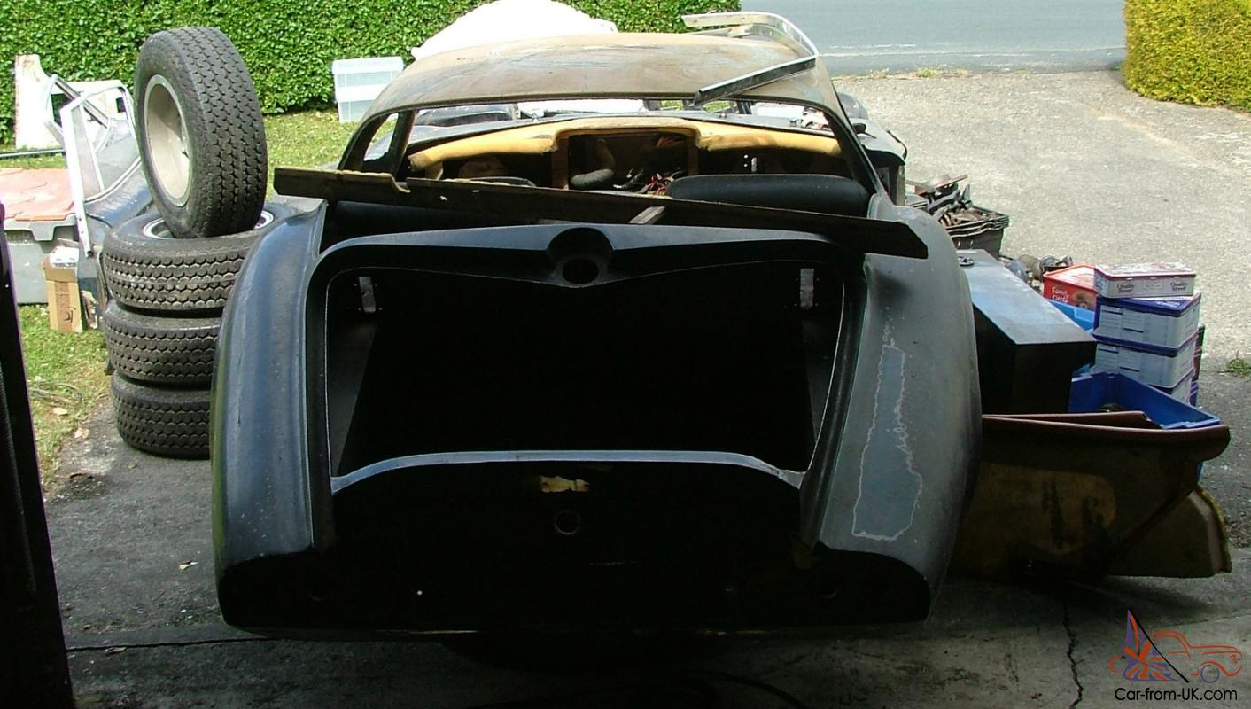 1966 Marcos 1500 GT Wooden Chassis - Good easy project