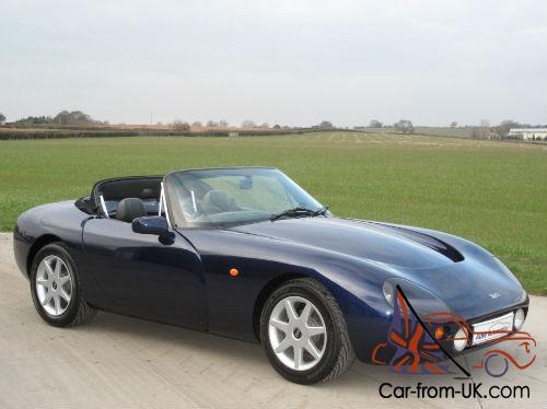 1995 tvr griffith 500 montreal blue with grey leather. Black Bedroom Furniture Sets. Home Design Ideas
