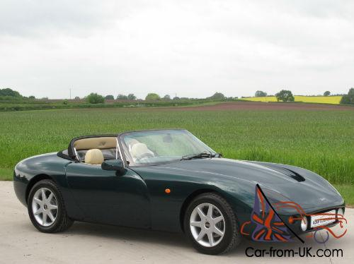 1996 N Tvr Griffith 500 Cooper Green With Beige Leather