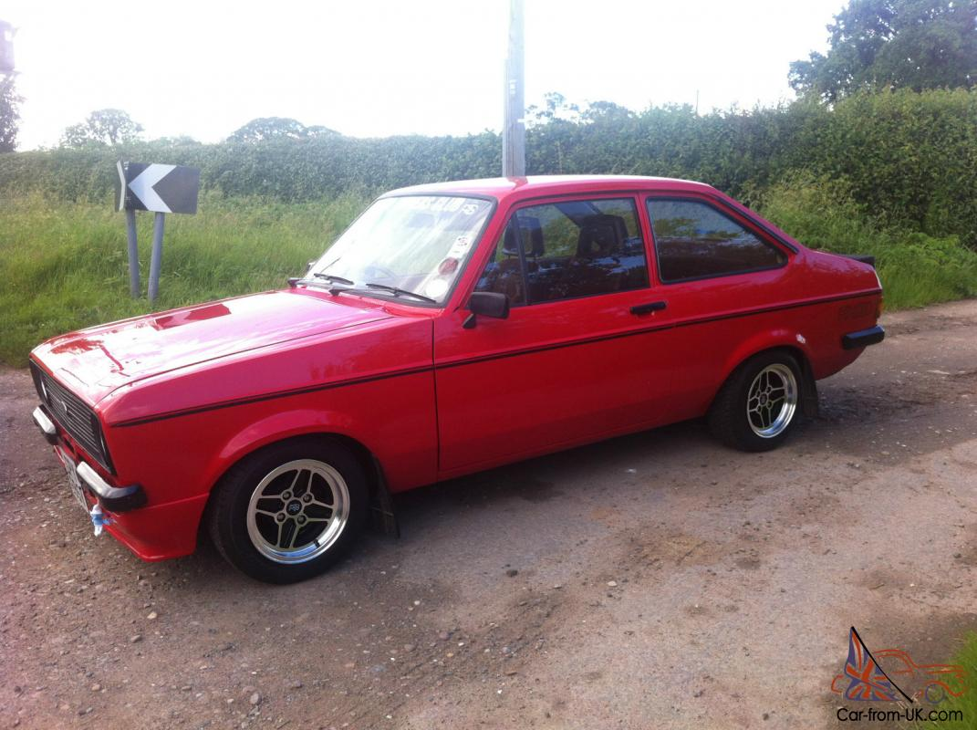 Ford Escort RS2000 Mk2 mexico flat front restored very clean New ...