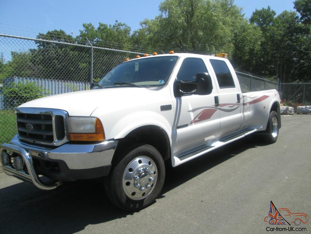 2000 ford f550 4 door crew cab fontaine conversion 7 3 turbo diesel automatic photo