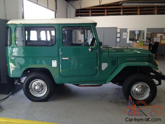 1977 toyota land cruiser bj40 diesel 4 speed manual 2 door suv rh car from uk com