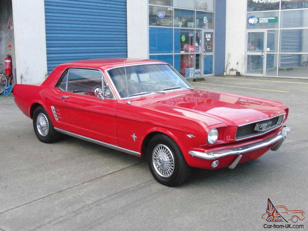 ford mustang 1966 coupe 3sp auto and 289 v8. Black Bedroom Furniture Sets. Home Design Ideas