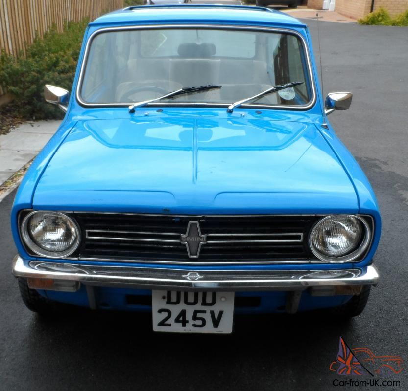 Mini mini clubman blue ebay motors 111121028521 for Ebay motors classic cars for sale by owner