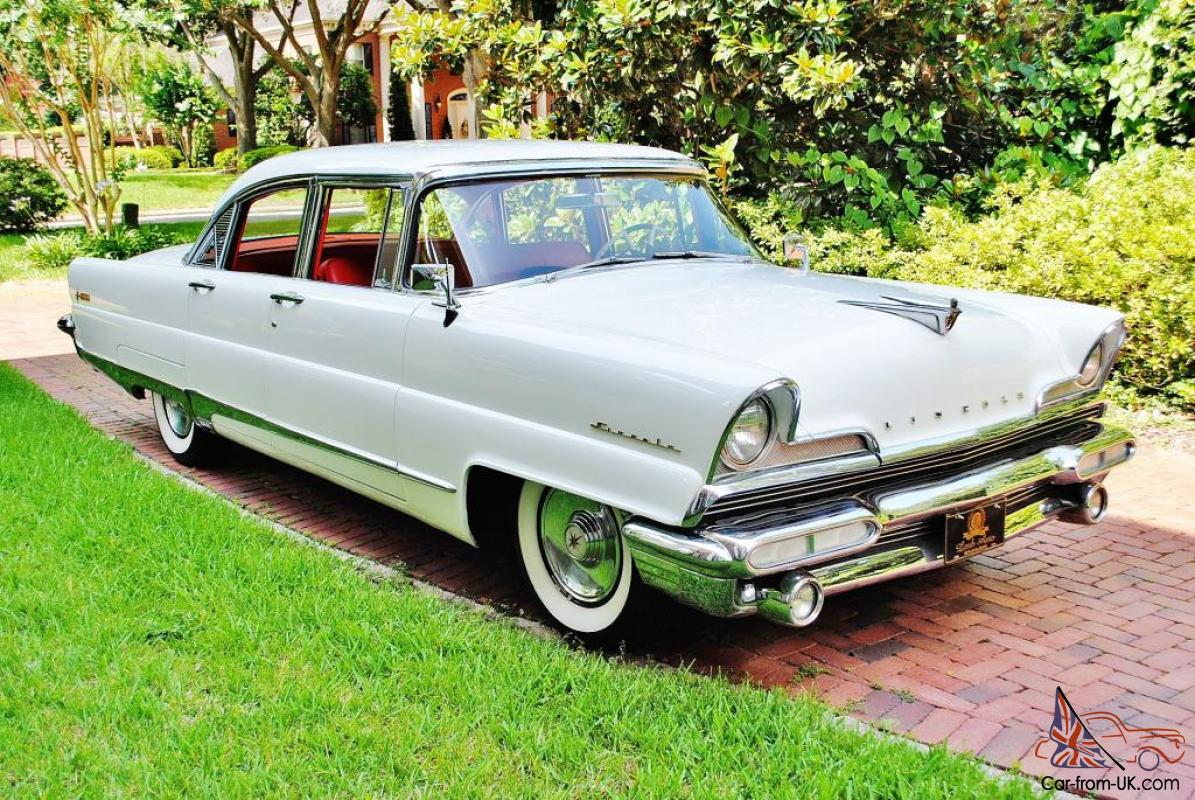 simply stunning 1956 lincoln premiere loaded restored drives amazing no reserve. Black Bedroom Furniture Sets. Home Design Ideas