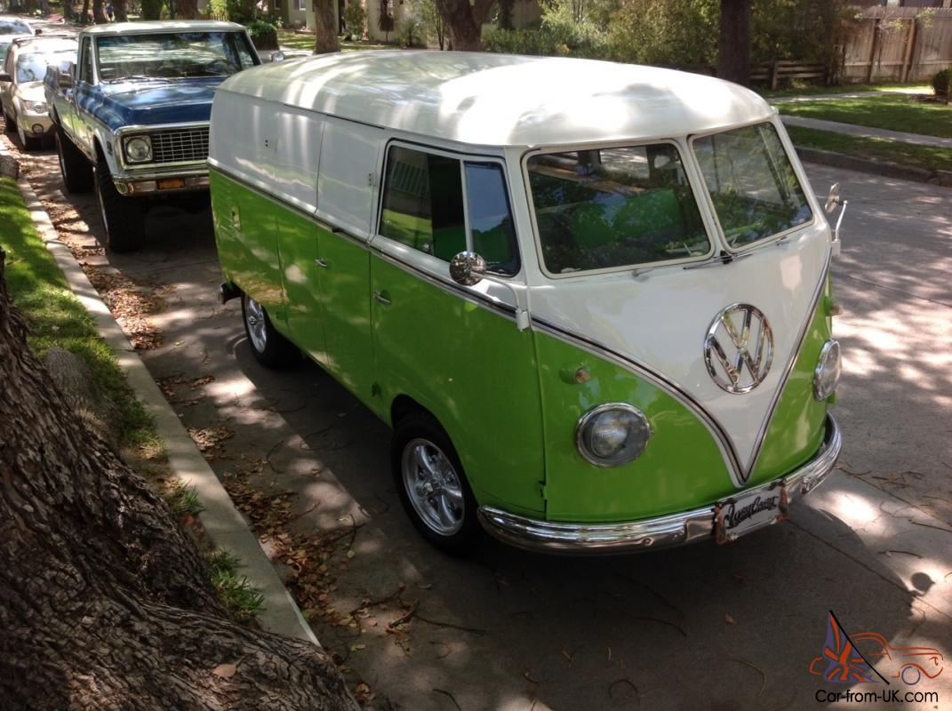 1958 VW Volkswagen Panel Bus from MTV Show PIMP MY RIDE by