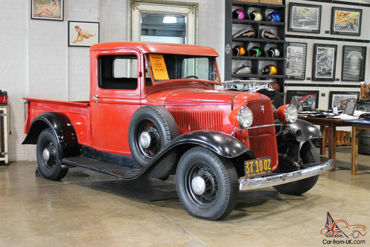 1933 Ford Pickup Photo