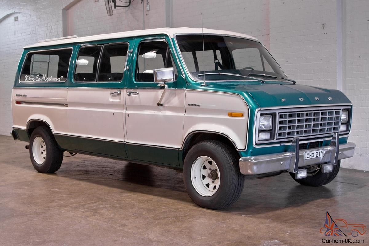 1979 ford club wagon delux rh car from uk com 2013 Ford Econoline Wagon Ford Courier Wagons