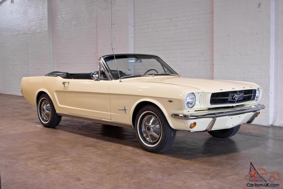 1964 1 2 mustang convertible. Black Bedroom Furniture Sets. Home Design Ideas
