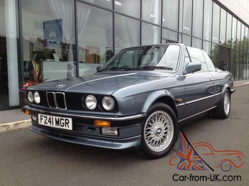 bmw 325i cabriolet low mileage immaculate example. Black Bedroom Furniture Sets. Home Design Ideas