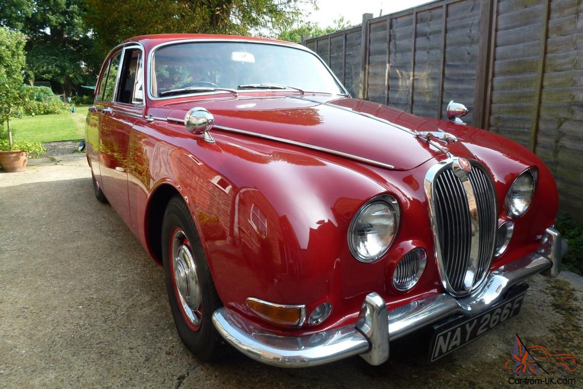 1968 jaguar s type 3 4 mod in carmen red. Black Bedroom Furniture Sets. Home Design Ideas