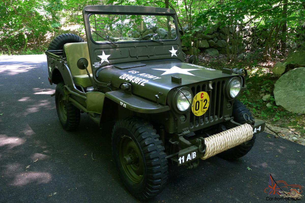 1952 Willys M38 Military Army Jeep Rotisserie Restoration
