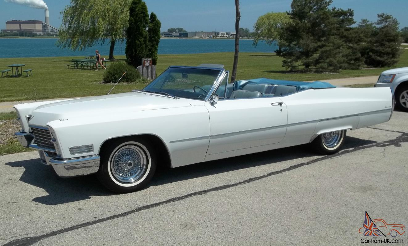 1967 Cadillac De Ville Convertible - Excellent Condition