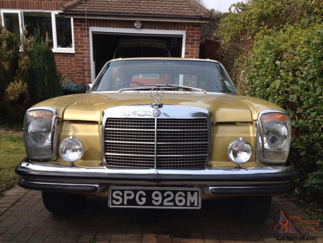 Mercedes Benz 280ce Coupe Icongold Ebay Motors 321108617648