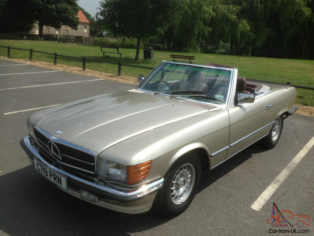 1985 mercedes benz r107 500sl