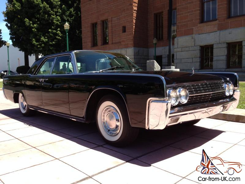 1962 lincoln continental ca car rare presidential model. Black Bedroom Furniture Sets. Home Design Ideas