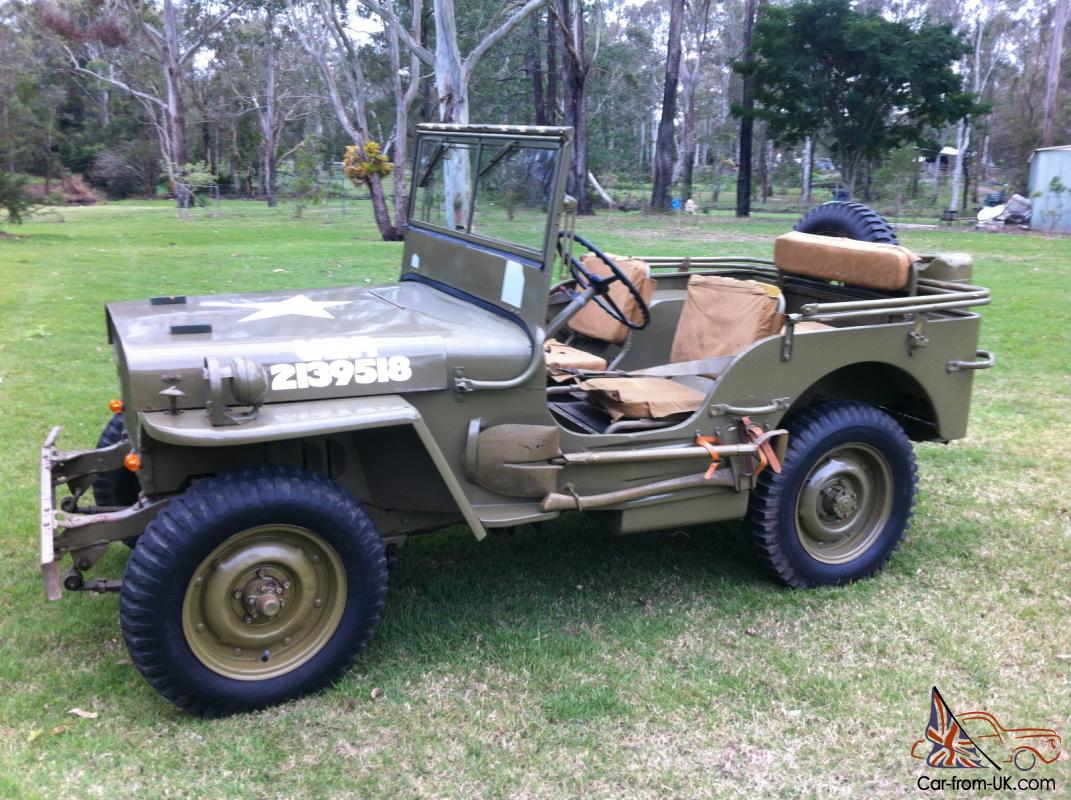 Extrêmement 1943 Willys MB WW2 Army Jeep GPW ZF08