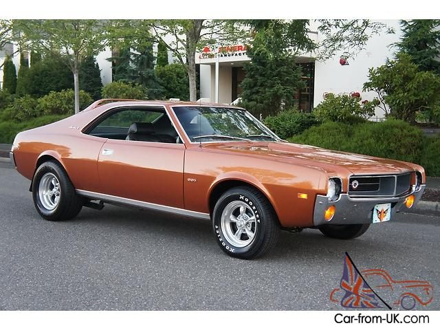 1969 AMC JAVELIN FACTORY 390 4 SPEED REAL DEAL FAST CAR
