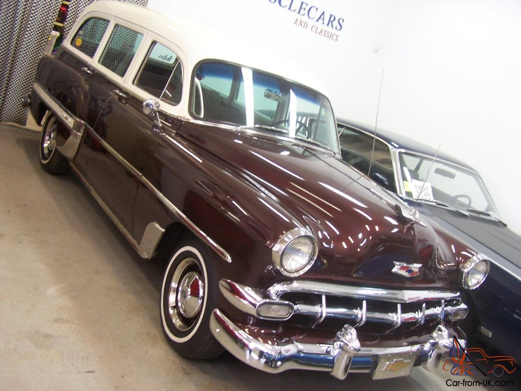 1954 Chevy Belair Wagon Chevrolet Bel Air 4 Door