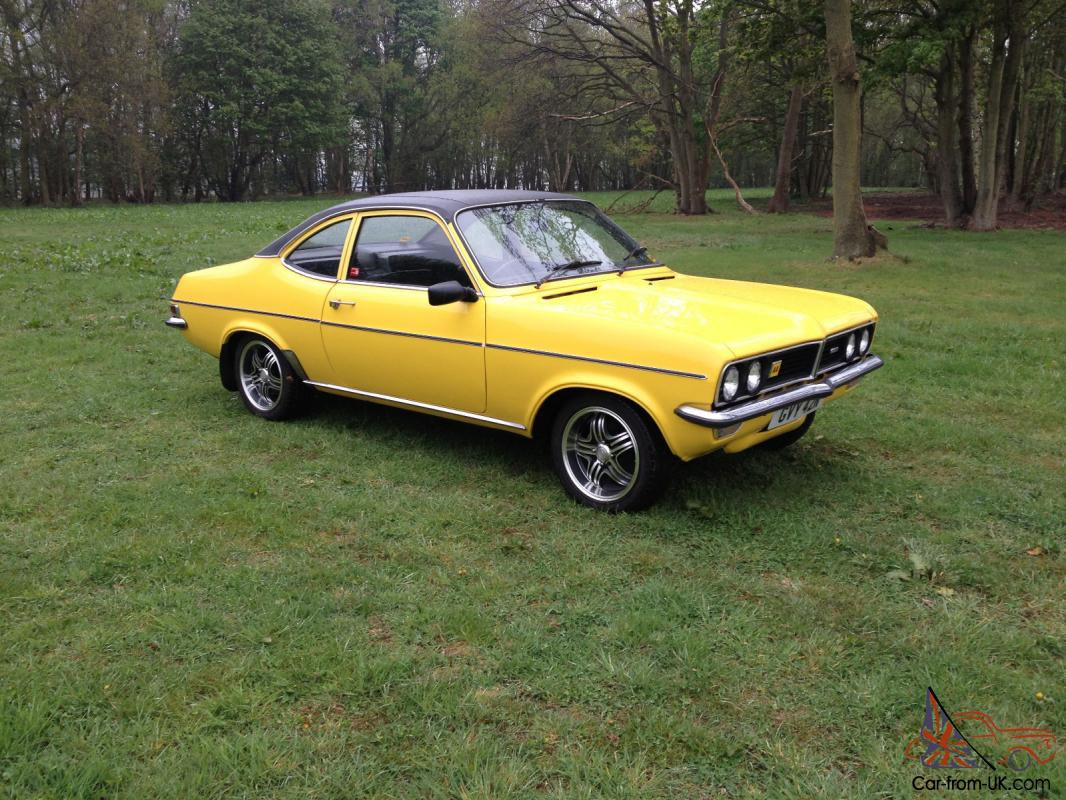 1975 Vauxhall Magnum 1800 Yellow Excellent Condition