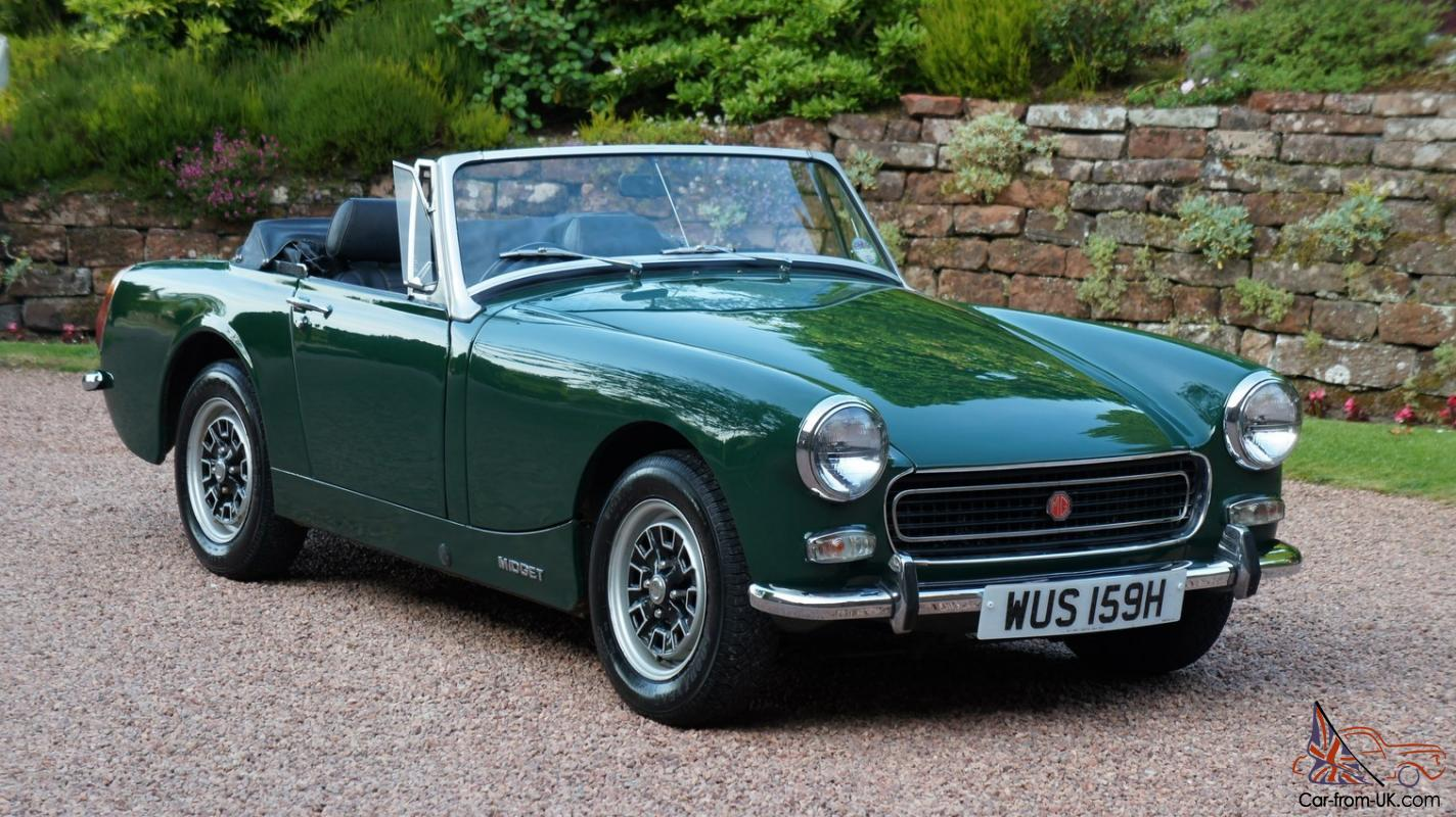 Please.... classic car mg midget good jobs