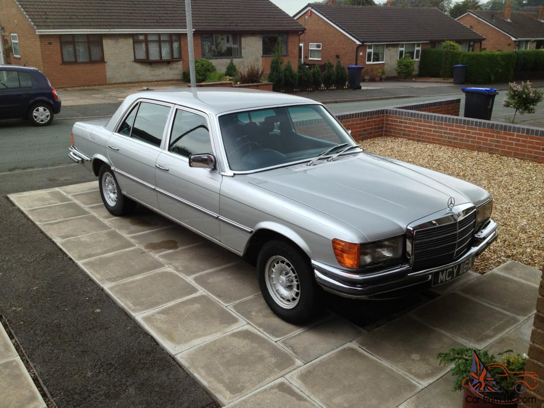 Mercedes w116 450 sel for How much does a mercedes benz silver lightning cost