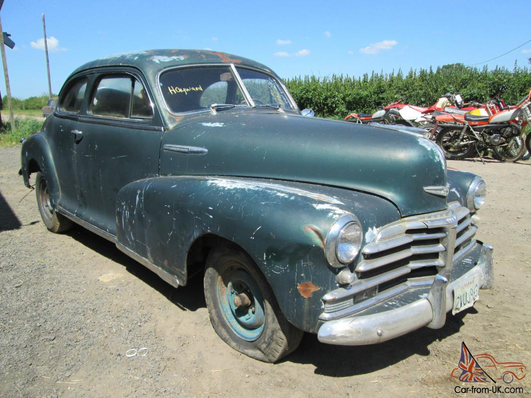1948 chevrolet fleetmaster coupe 2 door cool american easy