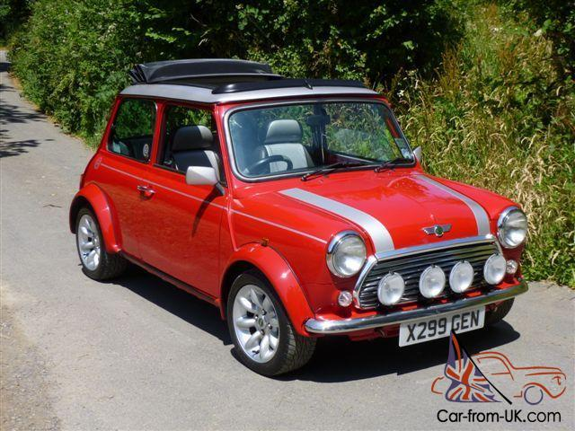 2000 rover mini cooper sport on 11800 miles from new. Black Bedroom Furniture Sets. Home Design Ideas