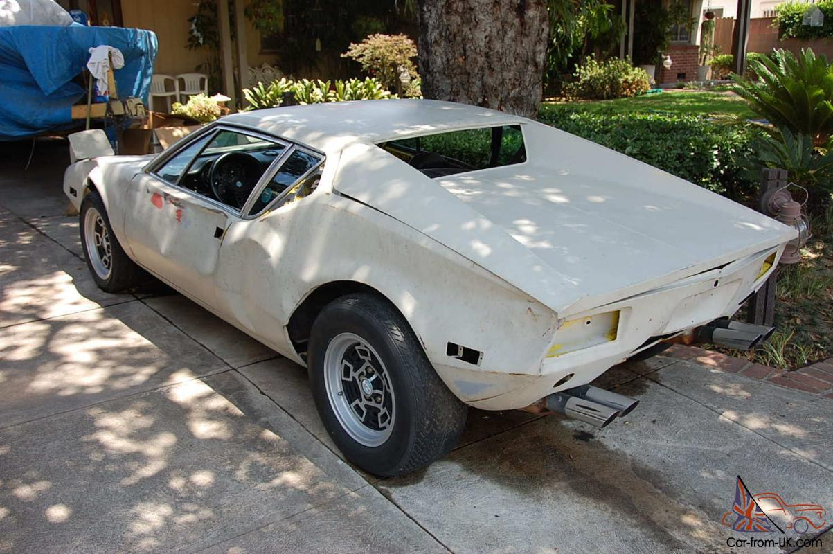 Detomaso Pantera For Sale >> Detomaso Pantera Project For Restore