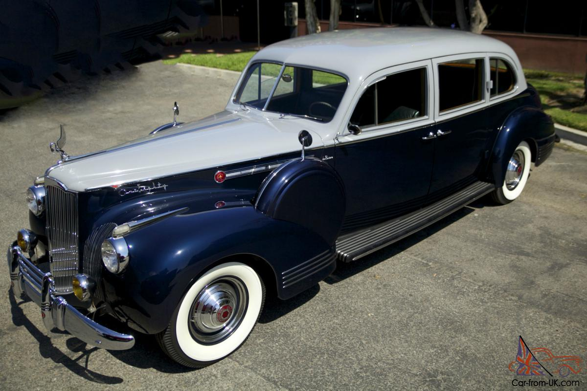 1941 Packard Super 8 Custom 180 Lebaron Limousine Great Provenance Mercury Eight Coupe
