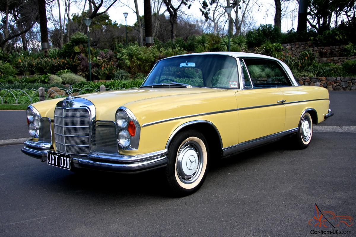 Mercedes benz 300se coupe 4 speed 1967 australian for History mercedes benz