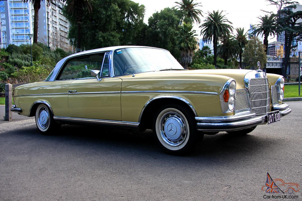 Mercedes benz 300se coupe 4 speed 1967 australian for Mercedes benz history