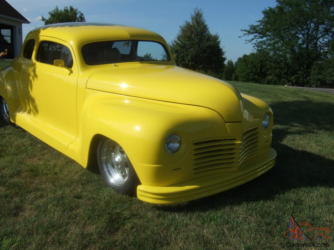 Classic Street Rod 1948 Plymouth Coupe