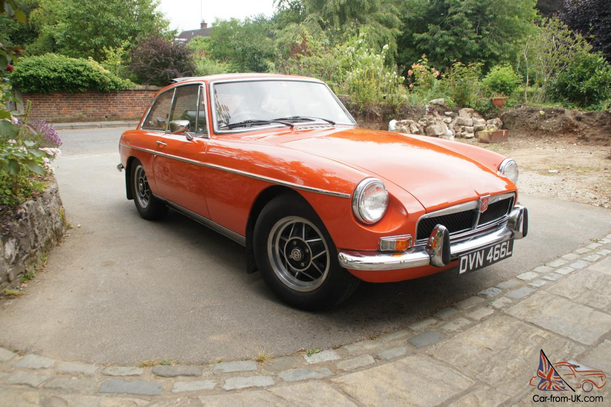 mg b gt 1973 manual overdrive mgb tax exempt 2014. Black Bedroom Furniture Sets. Home Design Ideas