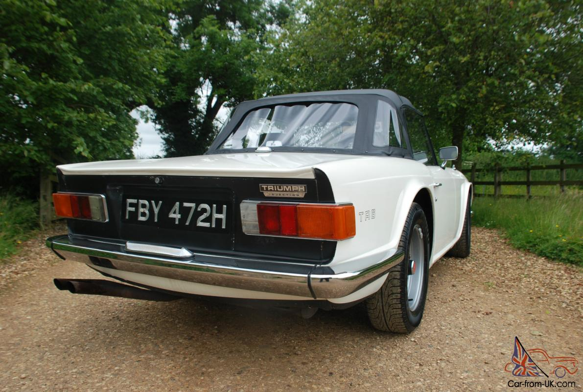 Totally Original Triumph Tr6 1970 H Fuel Injection Manual