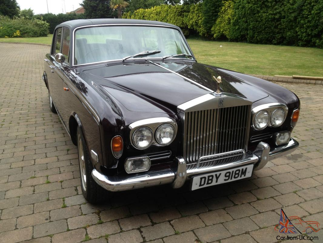 1973m Rolls Royce Silver Shadow Long Wheelbase