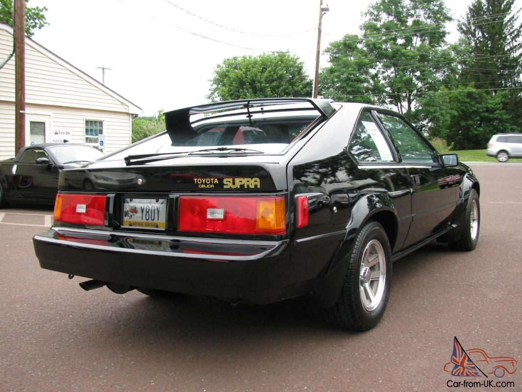 1982 toyota celica supra only 62k original miles super clean car. Black Bedroom Furniture Sets. Home Design Ideas